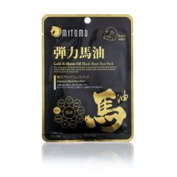 Sheet Mask met Gold & Horse OIl Mitomo Benelux