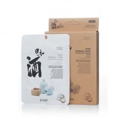 mitomo benelux  Uruuru sheet mask Sake essence  skincare