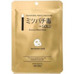 mitomo benelux mask beevenom gold skincare