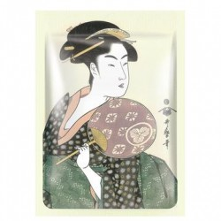 mitomo benelux ukiyoe sheet mask Royal Jelly & Cherry Blossom skincare beauty